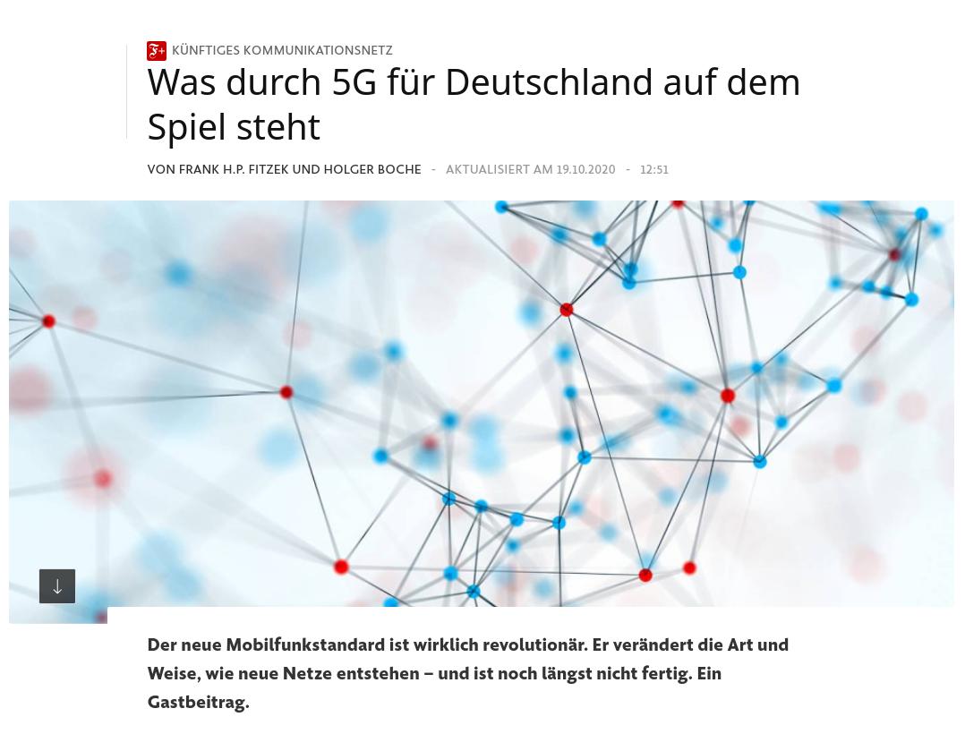 Was durch 5G für Deutschland auf dem Spiel steht - FAZ